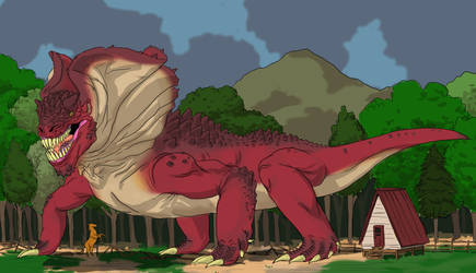 A Baragon by Any Other Name by Rixshaw