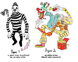 Clown/Mime by Rixshaw