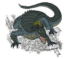 Retrosaur 2 by Rixshaw