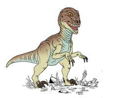 Retrosaur 6 by Rixshaw
