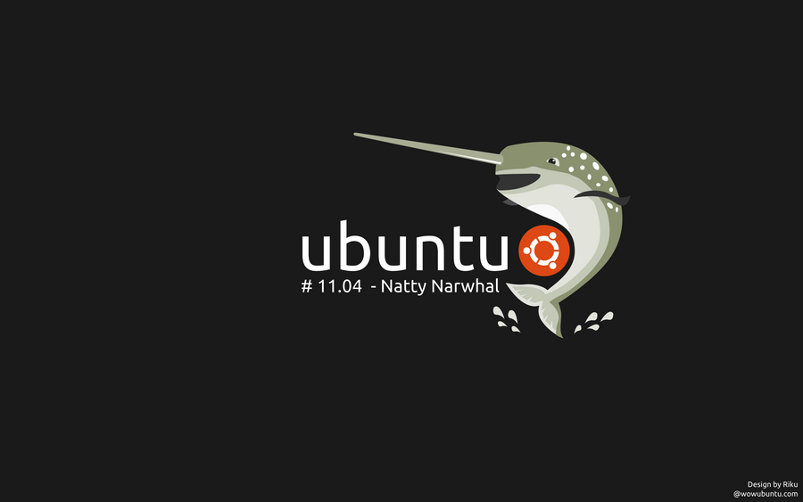 Ubuntu Natty Wallpaper by rikulu