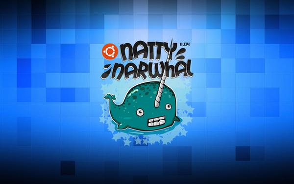 Ubuntu Natty Narwhal Wallpaper by rikulu