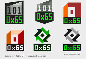 0x65 Logo by rikulu