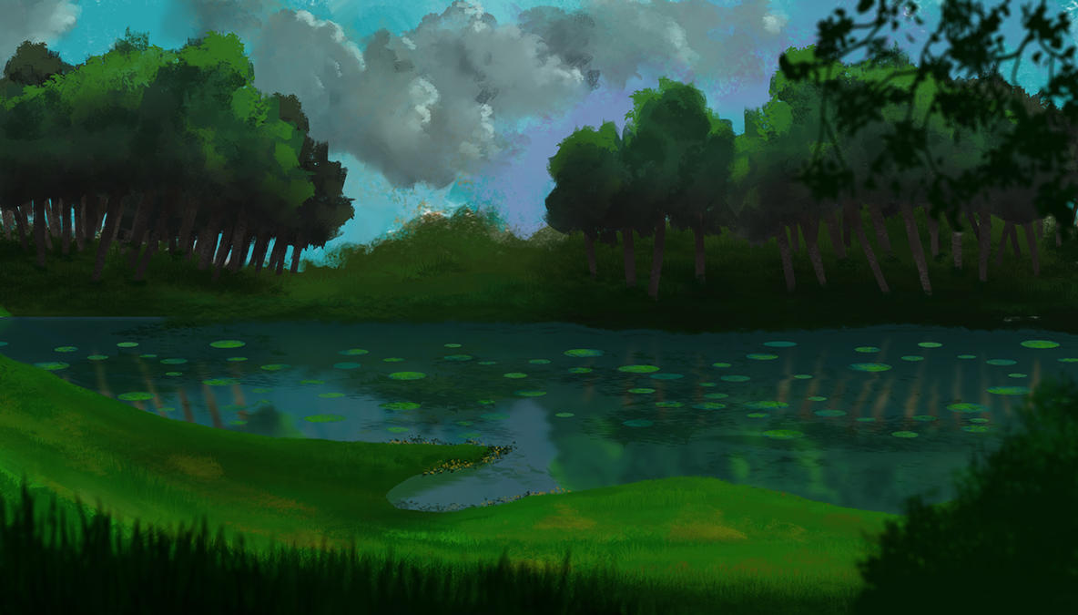 landscape by ker-tar