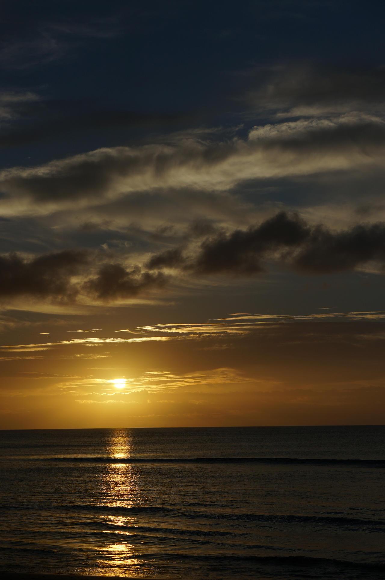 Just a sunrise by darthsabe
