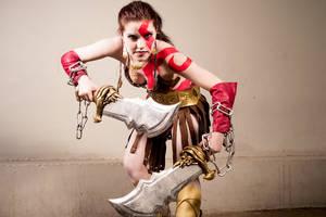 Kratos female version by AyunCelebelen