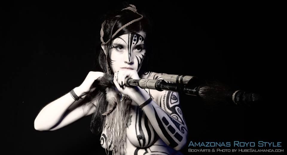 Tribute to Luis Royo - Amazonas by AyunCelebelen