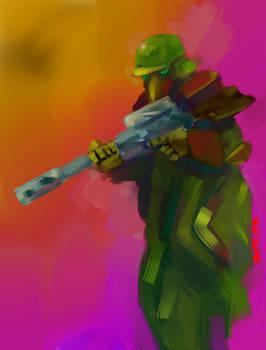 Hypno soldier