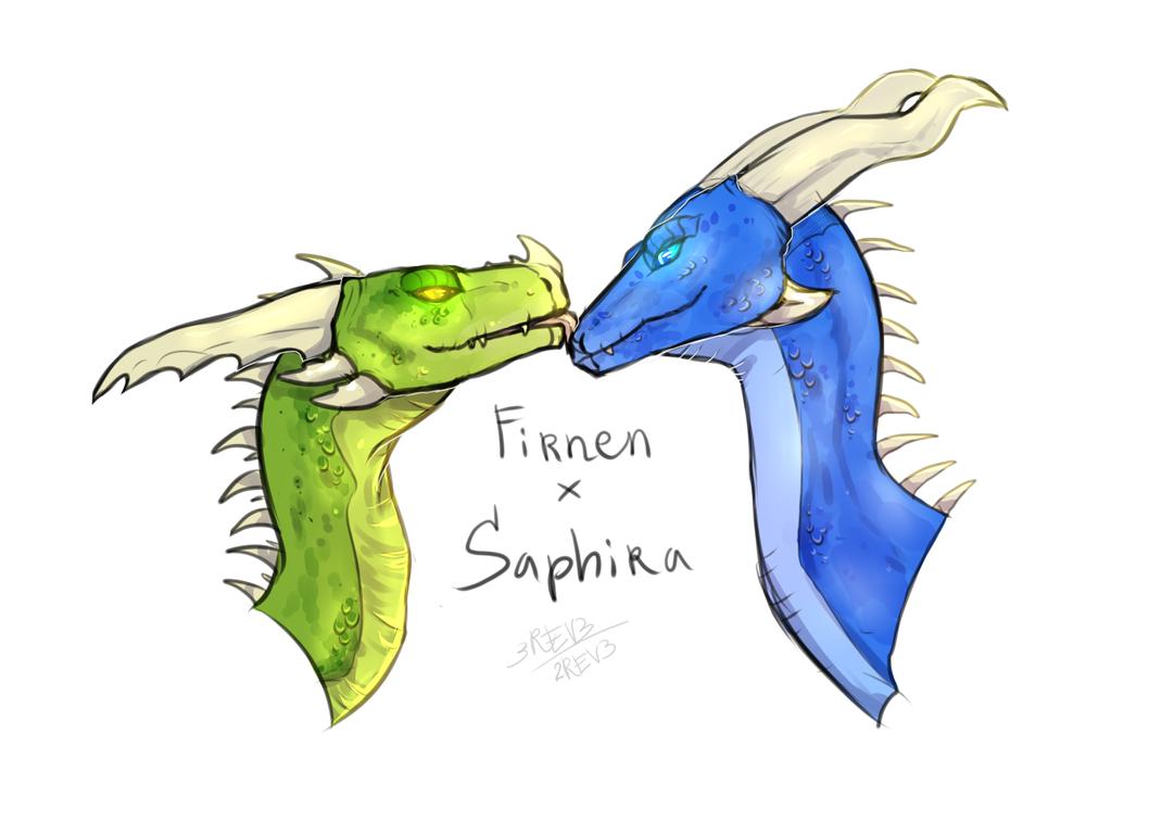 Firnen X Saphira! by 2rev3