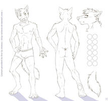 Wolf Character Sheet Template [For Free Use!]