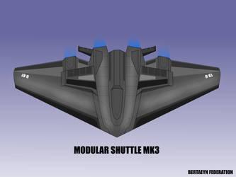 Modular shuttle next gen W.I.P by breizh87