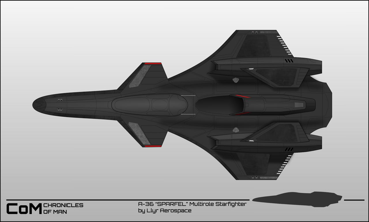 Chronicles of Man 3.0 : Space superiority fighter by breizh87