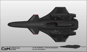 Chronicles of Man 3.0 : Space superiority fighter