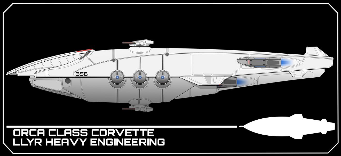 Orca Class Corvette by breizh87