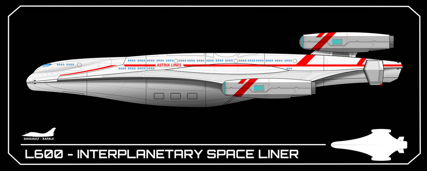 L600 - Interplanetary Space Liner by breizh87