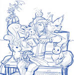 yuho and pokemons