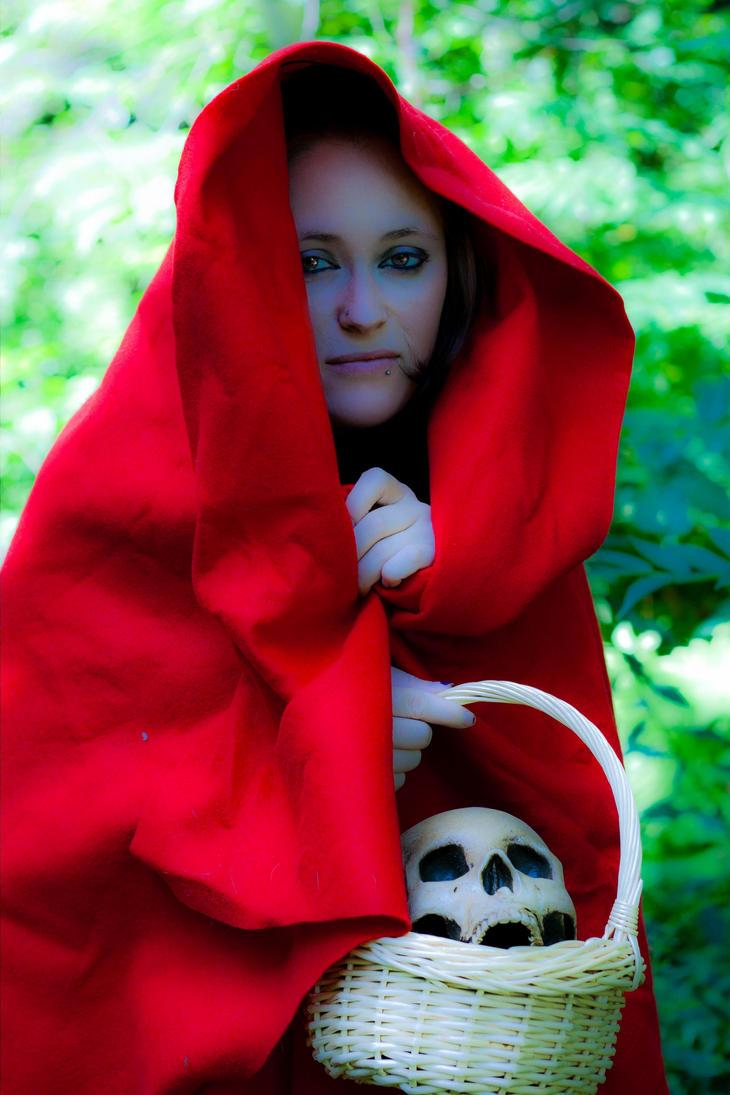 Evil Little red riding hood by UnderDuressEvil Little Red Riding Hood Makeup