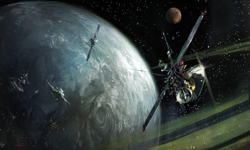 satellite by Wen-Xaeroaaa
