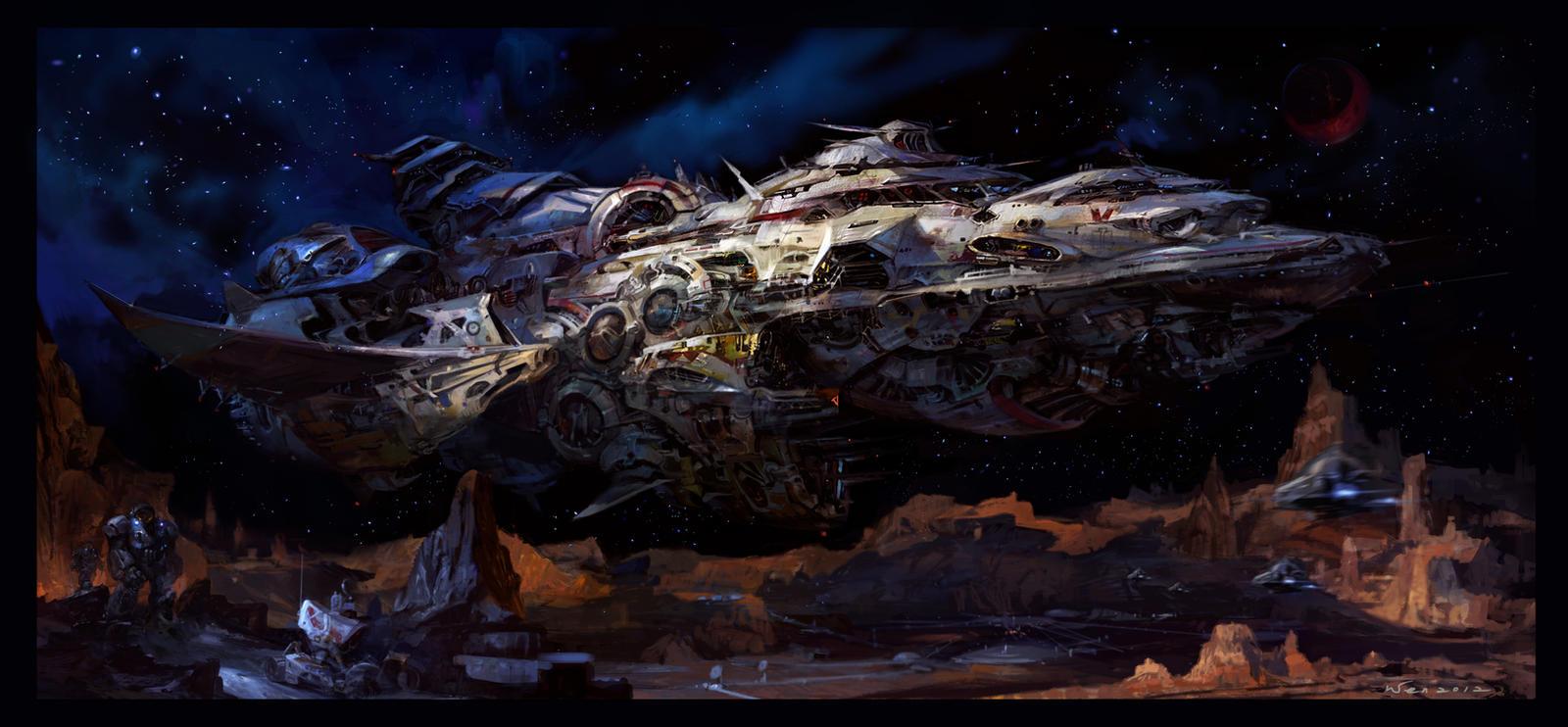 space journey by Wen-Xaeroaaa