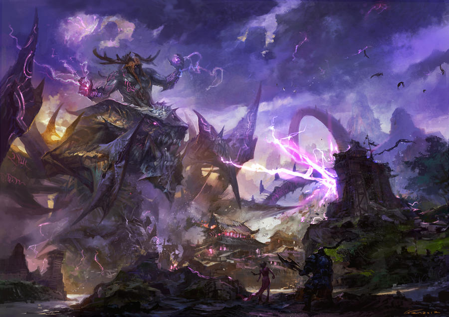 Rise by Wen-Xaeroaaa