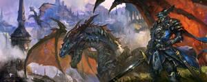 dragon knight by Wen-Xaeroaaa
