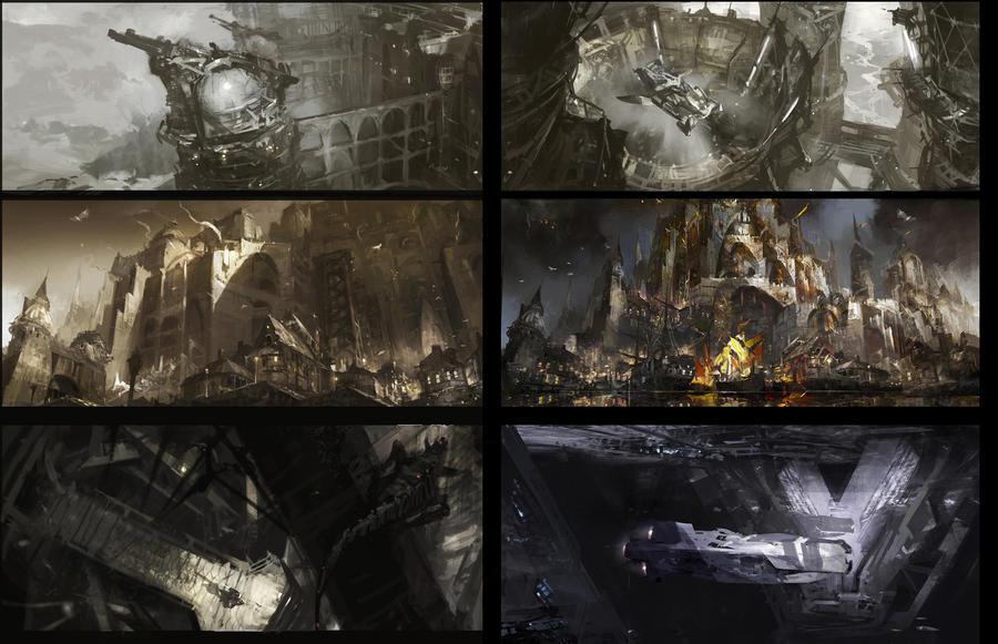 environment design by Wen-Xaeroaaa
