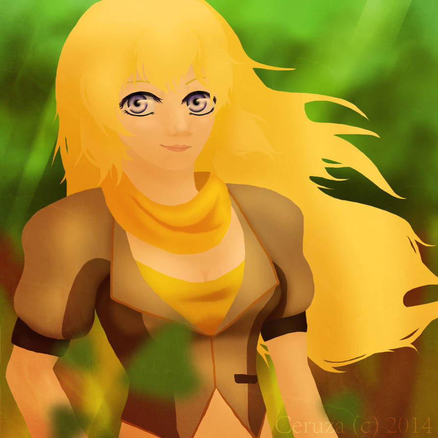 Yang Xiao Long Wallpaper: Yang Xiao Long By TheAssassinNightWolf On DeviantArt