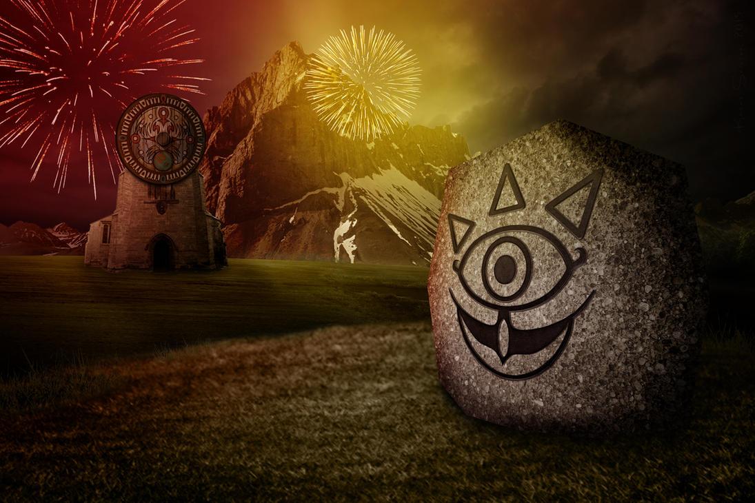 Majoras Mask Moon Giants Carnival of Time - TLO...