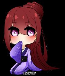 [BnHA OC] Mienai Yukata by Charliia