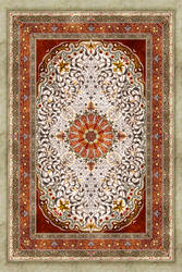 Red Corner Rug by cheneymac