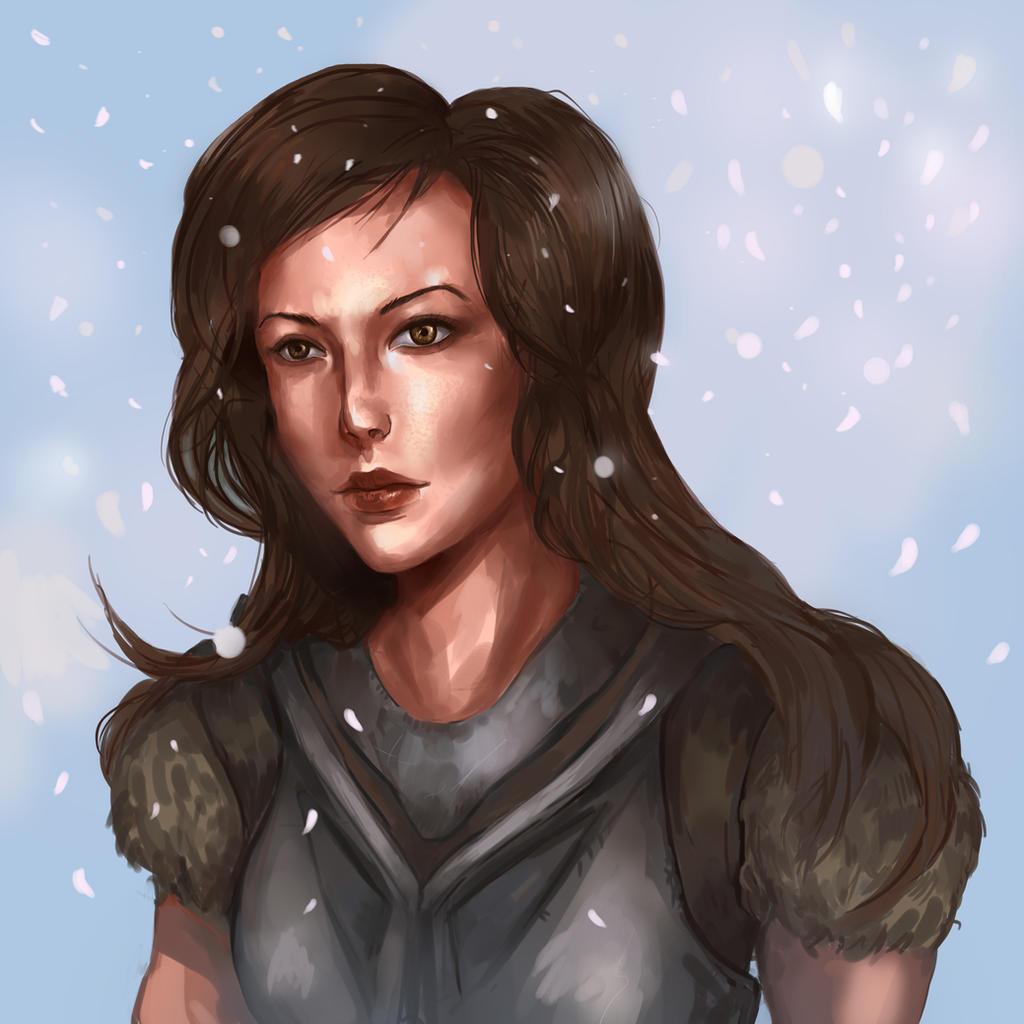 Skyrim - Lydia by skeletoninside