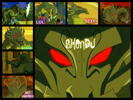 Shendu Collage by MiharuWatanabe