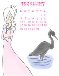 JCA 2013 Calendar February by MiharuWatanabe