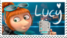 Lucy Wilde Stamp by MiharuWatanabe