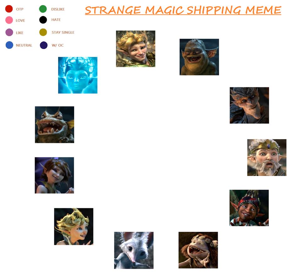 Strange Magic Shipping Meme by MiharuWatanabe