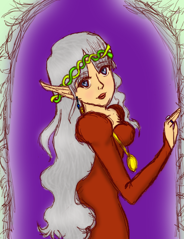 Silver- Queen of Summerland by ScythePunkette