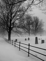 Cemetery Fog South Hollis by rayc33