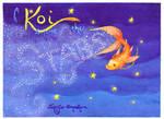 A Koi Among the Stars - old
