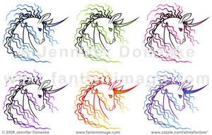 Ki-Rin Vector Design - Colors by whitefantom