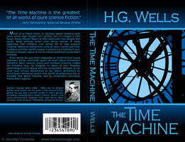 The Time Machine - Book Cover by whitefantom