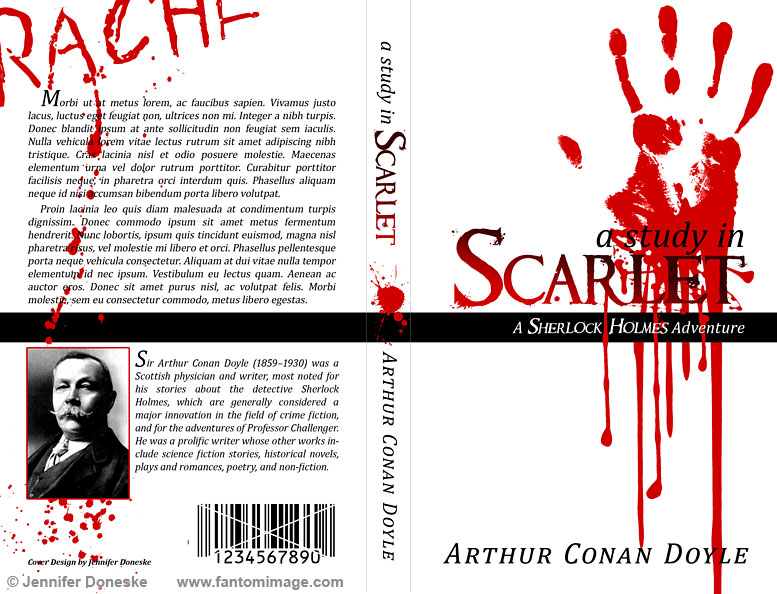 Study in Scarlet - Book Cover