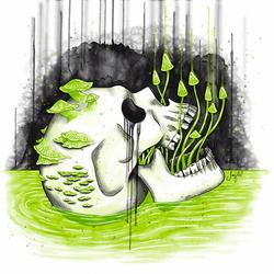 Inktober 2020 - Day 11 - Disgusting