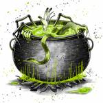 Inktober 2020 - Day 31 - Crawl