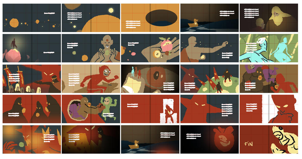 Storyboardsm by Robotpunch