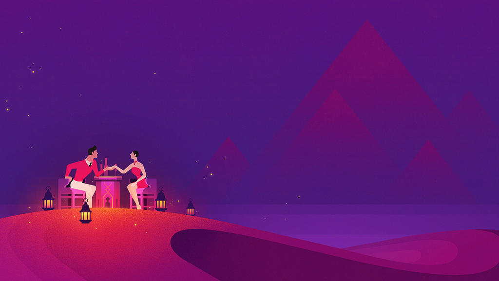 Desert by Robotpunch