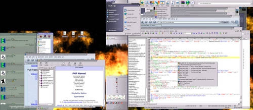 Psych0 Desktop by psych0phobia