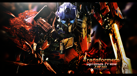 Optimus Prime Optimus_prime_by_the12zafar-d5ussas