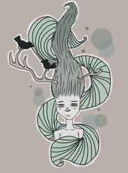 The Girl by CavemanJam