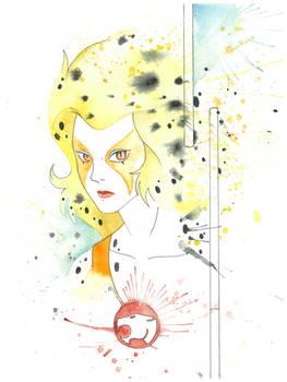 Cheetara Watercolor