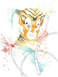 Tygra Watercolors by JAWart728